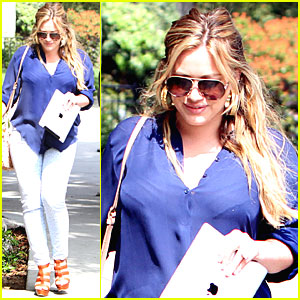 Hilary Duff: Post-Baby Body Debut!
