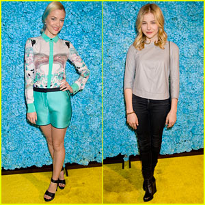 Jaime King & Chloe Moretz: Just Jared's 30th Birthday Bash!