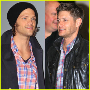 Jared Padalecki & Jensen Ackles: Back in British
