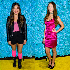 Jenna Ushkowitz & Nicola Peltz: Just Jared's 30th Birthday Bash