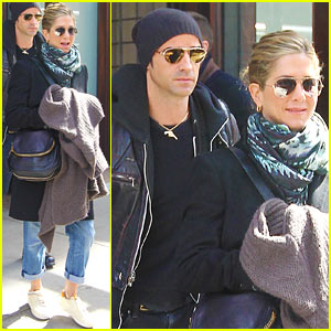 Jennifer Aniston &#038; Justin Theroux: Hotel Check Out!