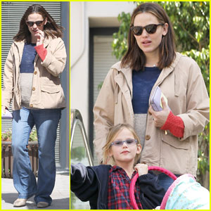 Jennifer Garner: Doctor's Appointment With Violet