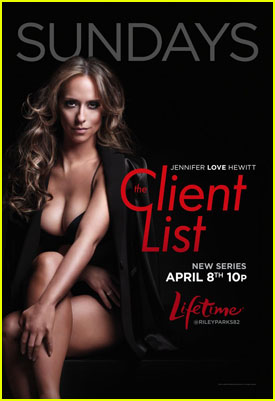 Jennifer Love Hewitt: 'The Client List' Promos!