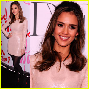 Jessica Alba: DVF Awards With Oprah Winfrey!