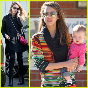 Jessica Alba: I'm the Disciplinarian in Our Family!