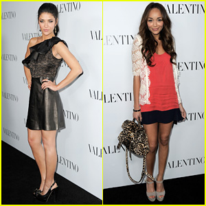 Jessica Szohr & Ashley Madekwe: Valentino Rodeo Drive Opening!