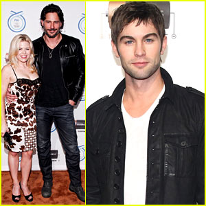 Megan Hilty & Joe Manganiello: Olympics Program Launch!