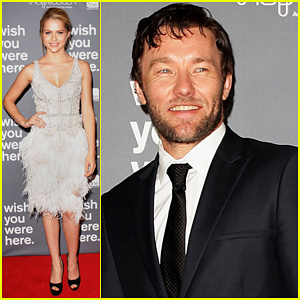 Joel Edgerton & Teresa Palmer: 'Wish You Were Here' Premiere!