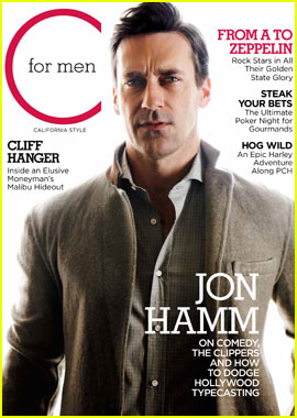 Jon Hamm Covers 'C for Men' Spring 2012