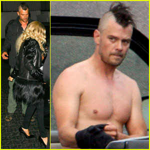 Fergie &#038; Josh Duhamel: Chateau Marmont Mates