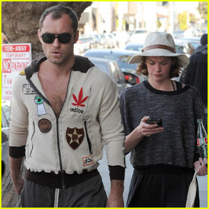 Jude Law & Ruth Wilson: New Couple Alert?