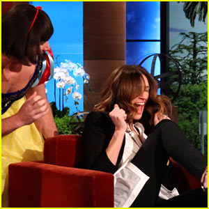 Julia Roberts: Snow White Scare on 'Ellen'!