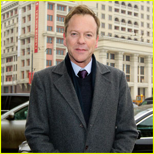 Kiefer Sutherland Promotes 'Touch' in Moscow & Madrid