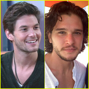Kit Harington & Ben Barnes: Sayers Club Kids