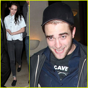 Kristen Stewart & Robert Pattinson: Parisian Dinner Date!