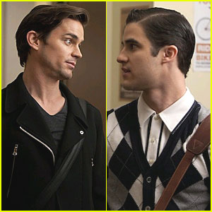 Matt Bomer on 'Glee' - FIRST LOOK