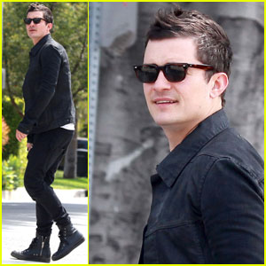 Orlando Bloom: Tailor Shop Stop