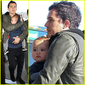 Orlando Bloom: Flight with Flynn!
