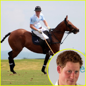 Prince Harry: Charity Polo Match in Sao Paulo