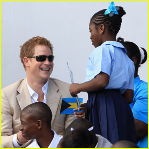 Prince Harry: Youth Rally in the Bahamas!