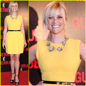 Reese Witherspoon: 'This Means War' Rio Premiere!