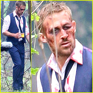Ryan Gosling: Bloody &#038; Bruised for 'Only God Forgives'