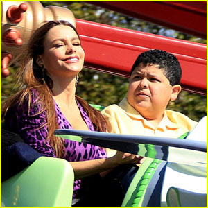 Sofia Vergara: Dumbo Ride with Rico Rodriguez!