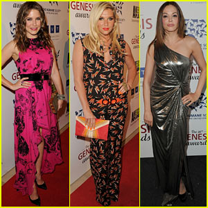 Sophia Bush & Ke$ha: Genesis Awards Gals!