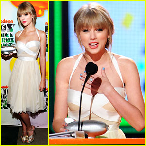 Taylor Swift - Kids' Choice Awards' Big Help Winner!