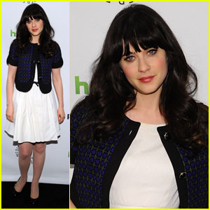 Zooey Deschanel: 'New Girl' at PaleyFest!