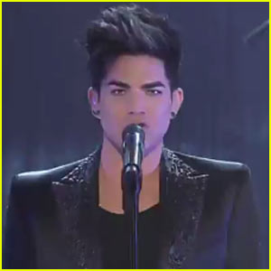 Adam Lambert Performs 'Trespassing' Live - Watch Now!