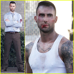 Adam Levine: Bloody for Maroon 5's 'Payphone'