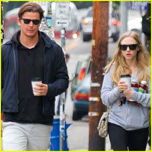 Amanda Seyfried & Josh Hartnett: Coffee Shop Date!