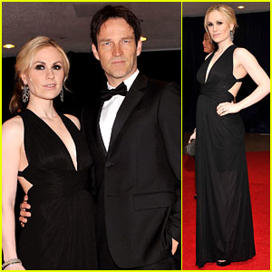 Anna Paquin & Stephen Moyer - White House Correspondents' Dinner 2012