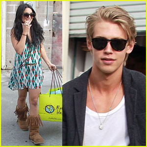 Vanessa Hudgens & Austin Butler: Planet Blue Shopping Spree!