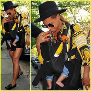 Beyonce & Blue Ivy Visit Aunt Solange!