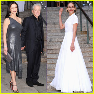 Catherine Zeta-Jones & Leelee Sobieski: Tribeca Festival Party!