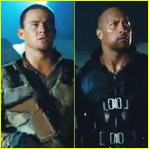 Channing Tatum & Dwayne Johnson: New 'G.I. Joe' Trailer!