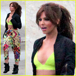 Cheryl Cole: On Set For 'Call My Name'