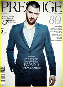 Chris Evans Covers 'Prestige' April 2012