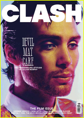 Cillian Murphy Covers 'Clash' May 2012