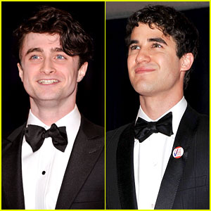 Daniel Radcliffe & Darren Criss - White House Correspondents' Dinner 2012