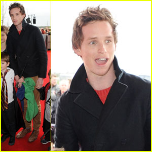 Eddie Redmayne: 'Harry Potter' Studio Tour Opening