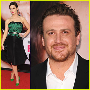 Emily Blunt & Jason Segel: 'Five-Year Engagement' Premiere