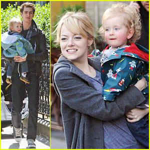 Emma Stone: Baby Duty with Andrew Garfield!