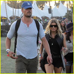 Fergie and Josh Duhamel: Coachella Day Three