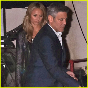 George Clooney & Stacy Keibler: Craig's Bar & Grill Date Night!