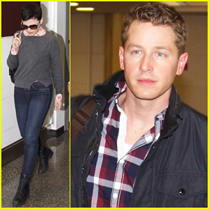 Ginnifer Goodwin &#038; Josh Dallas: Washington Arrival!