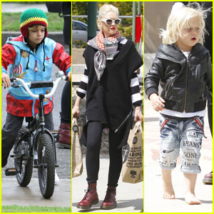 Gwen Stefani: Picnic at the Park with Kingston &#038; Zuma