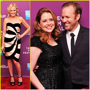Jenna Fischer & Lee Kirk: 'Giant Mechanical Man' Premiere!
